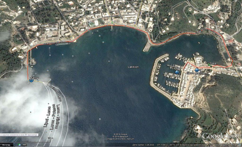 Evros map