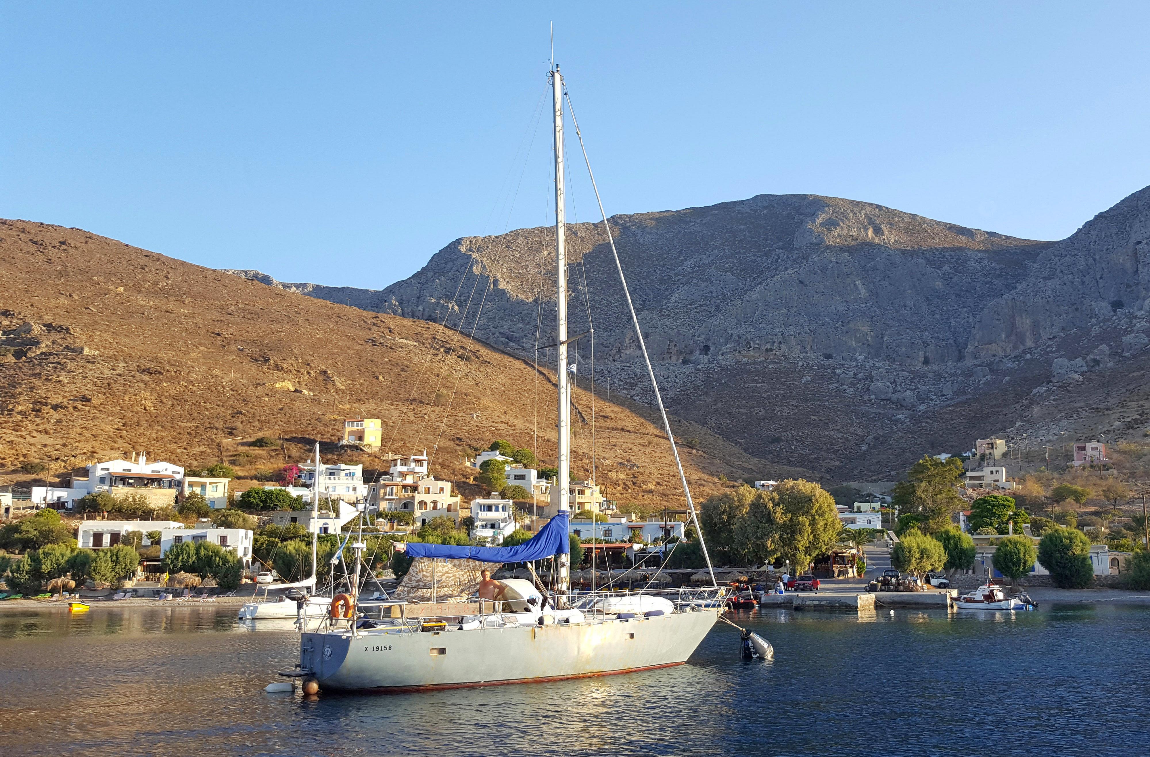 LuNa — под парусами по островам Греции